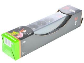 Сетевой фильтр ЭРА SF-5es-4m-B черный