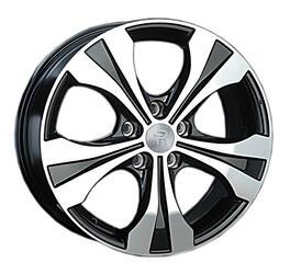 Автомобильный диск литой Replay H40 7x19 5/114,3 ET 50 DIA 64,1 BKF