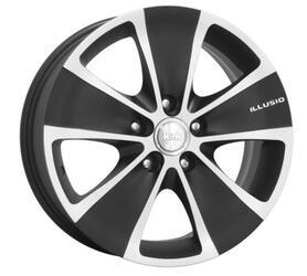 Автомобильный диск Литой K&K Иллюзио 6,5x17 5/112 ET 39 DIA 57,1 Алмаз МЭТ