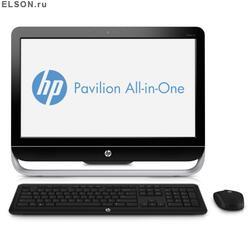 "23"" Моноблок HP Pavilion AIO 23-b103er (HD+) Core i3-3220 (3.3)/4GB/500GB/GT 610M 1Gb/DVD-RW/WiFi/Cam/Kb+M/Win8"