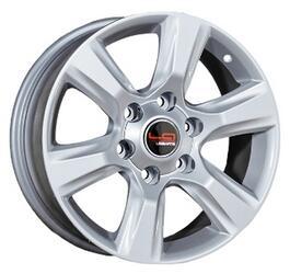 Автомобильный диск Литой LegeArtis TY68 7,5x17 6/139,7 ET 30 DIA 106,1 Sil