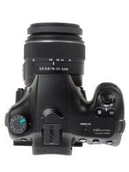 Зеркальная камера Sony Alpha SLT-A65VK Kit 18-55mm черный