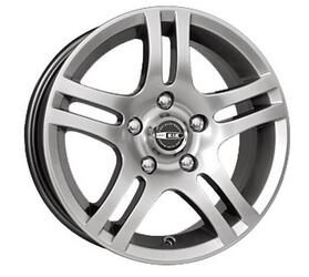 Автомобильный диск  K&K Канкан 7x16 5/110 ET 37 DIA 67,1 Блэк платинум