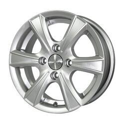 Автомобильный диск литой Скад Пионер 5,5x13 4/120 ET 26 DIA 66,6 Гоночный