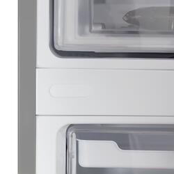 Холодильник с морозильником LG GA-B489ZMKZ серебристый