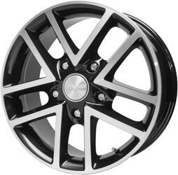 Автомобильный диск Литой Скад Атлант 8x18 5/130 ET 57 DIA 71,5 Алмаз