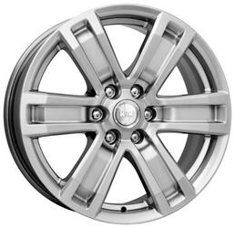 Автомобильный диск  K&K R-7 Рольф 7,5x17 6/139,7 ET 40 DIA 92,1 Сильвер