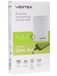 Портативный аккумулятор Vertex 'X'traLife белый