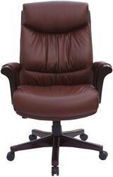 Кресло руководителя Бюрократ Genius коричневый