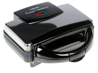 Сэндвичница Tefal Pocket Sandwich-maker SM3000 серебристый