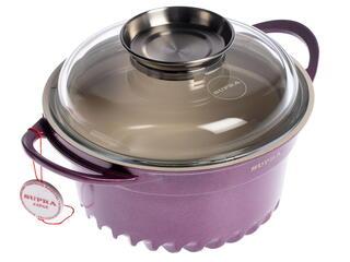 Кастрюля Supra SAD-S202C фиолетовый
