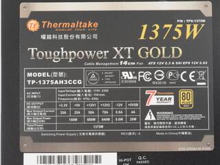 Блок питания Thermaltake Toughpower XT 1375W [TPX-1375MPCGEU]