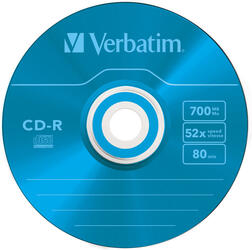 Диск Verbatim CD-R 700 Mb AZO Colours