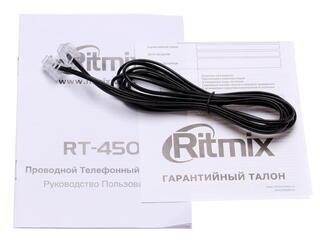 Телефон проводной Ritmix RT-450