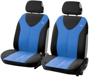 Чехол на сиденье H&R TROPHY FRONT передний, пайнэпл лайт, синий