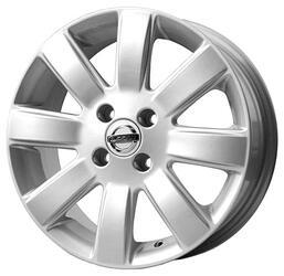 Автомобильный диск Литой Replay NS44 5,5x15 4/100 ET 50 DIA 60,1 Sil