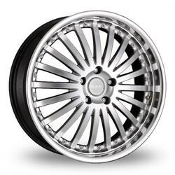 Автомобильный диск Литой MAK Arena 10x21 5/112 ET 50 DIA 66,6 Hyper Silver Mirror Lip