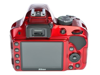 Зеркальная камера Nikon D3300 Body красный