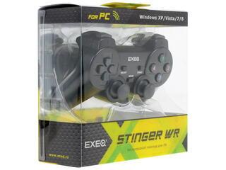 Геймпад EXEQ Stinger WR черный