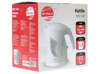 Электрочайник Supra KES-1201 белый