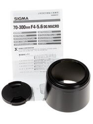 Объектив Sigma AF 70-300mm F4.0-5.6 DG Macro