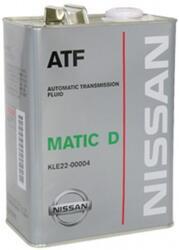 Трансмиссионное масло Nissan ATF MaticFluid D KLE22-00004