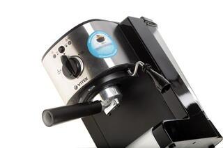 Кофеварка Vitek VT-1513 BK серебристый