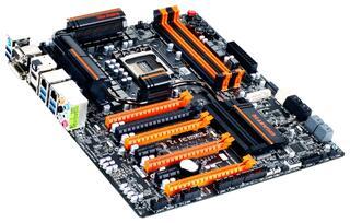 Плата Gigabyte LGA1155 GA-Z77X-UP7 Z77 4xDDR3-2800 5xPCI-Ex16 HDMI/DVI/DSub 8ch 6xSATA3 6xUSB3 2xGLAN RAID ATX