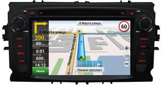Автопроигрыватель Velas V-FMGb + Navitel (for Ford Mondeo) черный