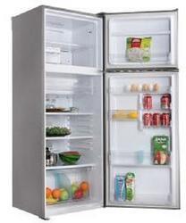 Холодильник с морозильником Sharp SJSC471VSL серебристый