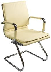 Кресло офисное Бюрократ CH-993-Low-V бежевый