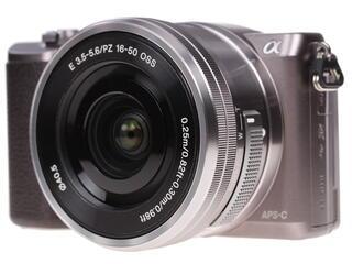 Камера со сменной оптикой Sony Alpha ILCE-5100LT kit 16-50mm