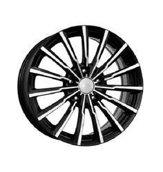 Автомобильный диск  K&K Акцент 7x17 5/120 ET 41 DIA 67,1 Алмаз черный