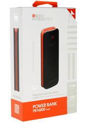 Портативный аккумулятор InterStep PB16800BR красный, черный