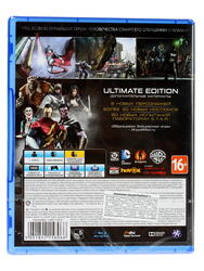 Игра для PS4 Injustice: Gods Among Us Ultimate Edition