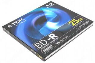 Диск BD-R 25Gb Jewel Case (TDK) 6x