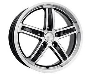 Автомобильный диск  K&K Маранелло 7x16 5/100 ET 40 DIA 67,1 Алмаз черный