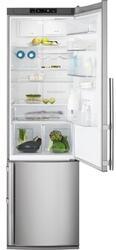 Холодильник с морозильником Electrolux EN3880AOX серебристый