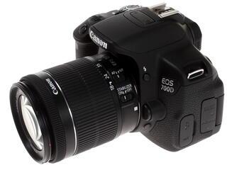 Зеркальная камера Canon EOS 700D Kit 18-55mm IS STM черный