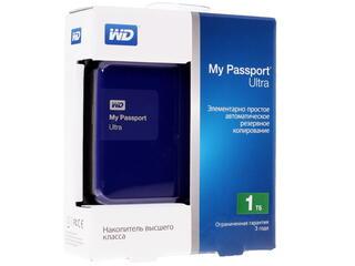 """2.5"""" Внешний HDD WD My Passport Ultra WDBDDE0010BBL"""
