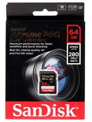 Карта памяти SanDisk Extreme Pro SDSDXPB-064G-G46 SDXC 64 Гб