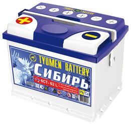 Автомобильный аккумулятор Tyumen Battery Standard 6СТ-62L