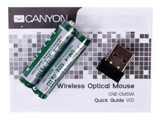 Мышь беспроводная Canyon CNE-CMSW1GR
