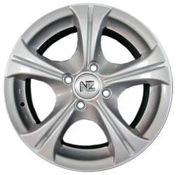 Автомобильный диск Литой NZ SH275 5,5x13 4/98 ET 35 DIA 58,6 Sil