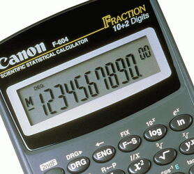 Калькулятор научный Canon F-604