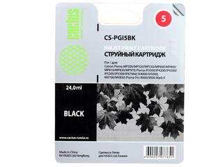 Картридж струйный Cactus CS-PGI5BK