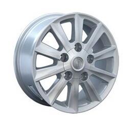 Автомобильный диск Литой Replay TY43 8x17 5/150 ET 60 DIA 110,1 Sil