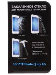 """4.5"""" Защитное стекло для смартфона ZTE Blade Q lux 4G"""