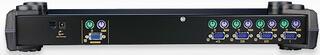"[ATEN CS-9134]Переключатель,электрон,KVM, 1 user PS2+VGA =\> 4 cpu PS2+VGA,без шнуров,1920x1440,1U 19"",исп.стандарт.шнуры,OSD,каскад 64"