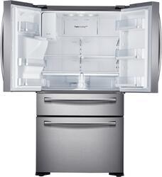Холодильник Samsung RF24FSEDBSR/WT [4-Door French Door/510 л/177x91x79 см] стальной